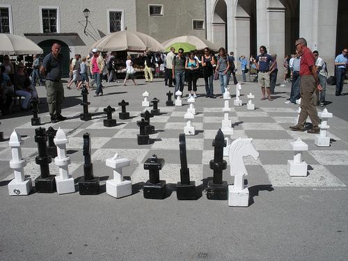 Шахматные площадки для улицы1